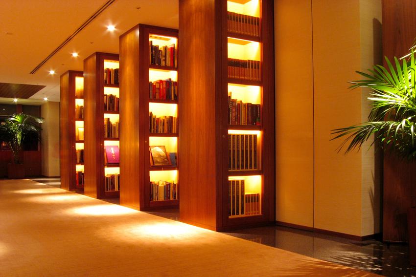 Park Hyatt Tokyo Library on 41F of Shinjuku Park Tower (1994)