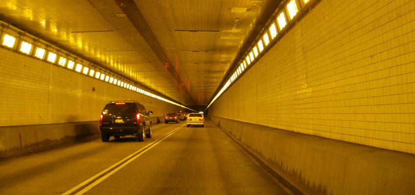 Fort Pitt Tunnel Interior