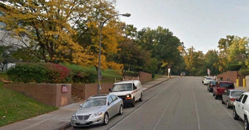 Google Street View of Tech Street